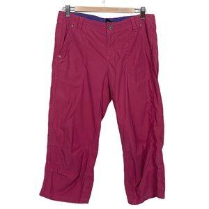 Kuhl Pink Hiking Capri Pants 10